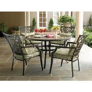 garden oasis langston 5 piece dining set search
