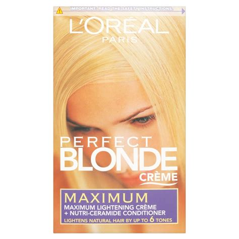 L Oreal Pre Lightener hunt or dye creme kits highlight prelightener