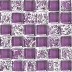 purple crackle plain mix bathroom kitchen glass mosaic