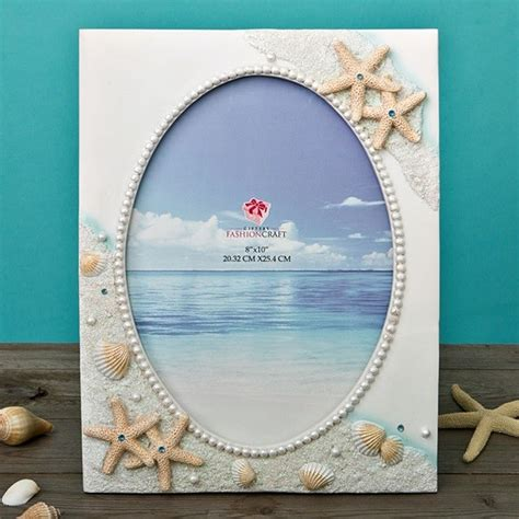 FashionCraft Glorious Hand Painted Beach Themed Frame