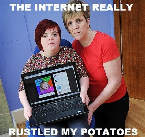 Potato Girl Meme - quot i can count to potato quot meme girl finds out she s a meme