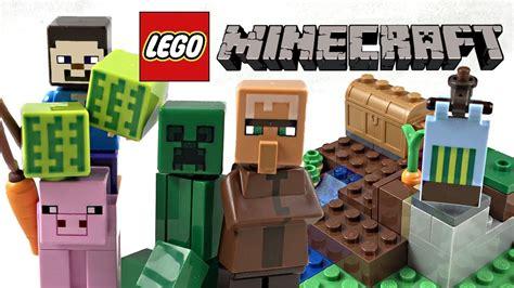 Lego 21138 Minecraft The Melon Farm lego minecraft the melon farm review 2018 set 21138