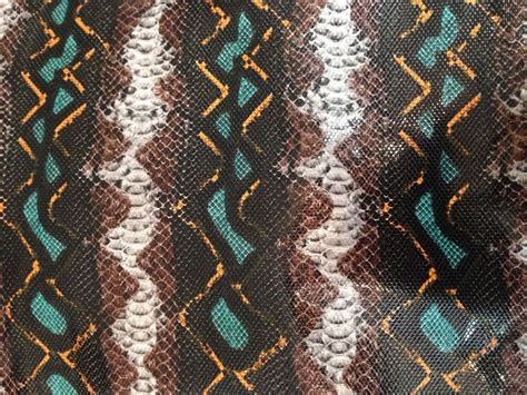 printable fabric vinyl limited snake skin animal print upholstery vinyl fabric