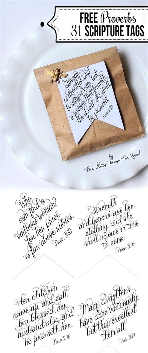printable bible verse tags printable bible verses proverbs 31 tags make it or fake