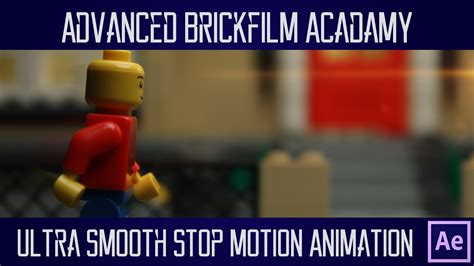tutorial lego stop motion ultra smooth stop motion animation frame blending