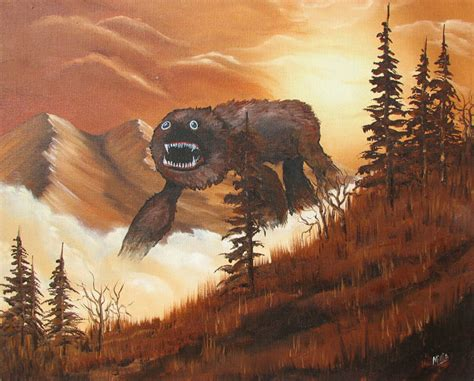 cool paintings random cool thrift store paintings get monster upgrades