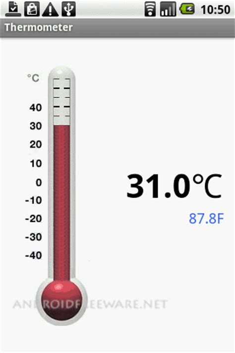 android thermometer thermometer app android