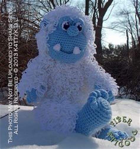 yeti crochet pattern 1000 images about yeti s on pinterest sock monster
