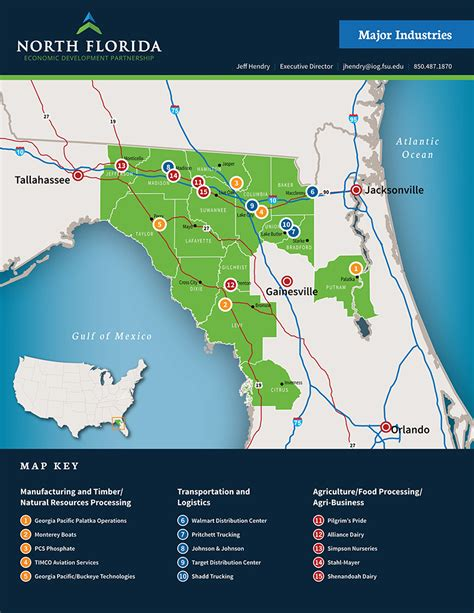 agricultural map of florida agriculture based industries in central florida