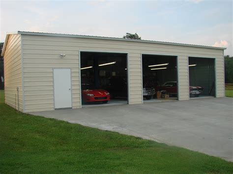 Enclosed Carports Garages by Enclosed Garage Customization Options Wholesale Direct