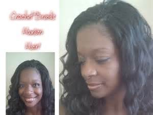 crochet hair with human hair crochet braids human hair a must see youtube