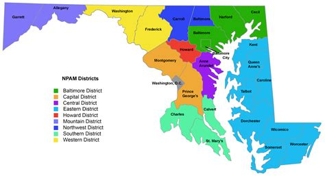 maryland district map practitioner association of maryland