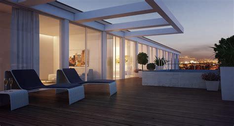 duplex apartment exterior terrace interior design ideas