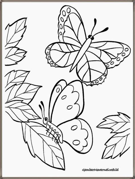 anti stres bunga buku mewarnai coloring book for adults mewarnai gambar kupu kupu dan bunga gambar mewarnai