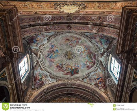 soffitto dipinto soffitto dipinto con gli angeli ed i san in un gatto
