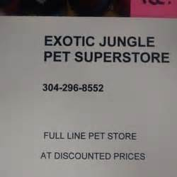 exotic jungle pet stores morgantown wv reviews