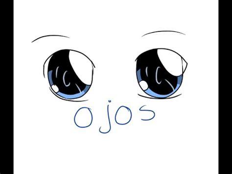 imagenes de ojos kawaii como hacer ojos kawaii vinxen fazbear youtube