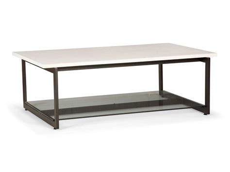bernhardt st claire 54 x 34 rectangular coffee table 549 011