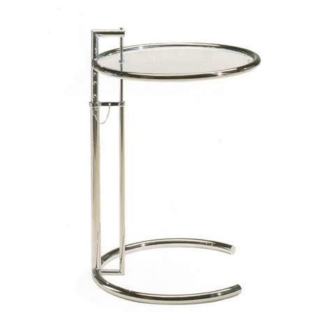 eileen gray coffee table eileen gray chromed coffee table with adjustable height arredaclick