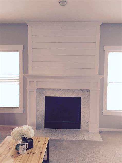 Shiplap Wall Fireplace Best 25 Shiplap Fireplace Ideas On Farmhouse