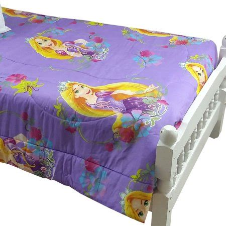 rapunzel twin bedding disney tangled bed comforter princess rapunzel dreams bedding walmart