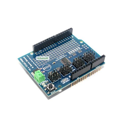 16 Channel 12 Bit Pwm Servo Shield I2c Interface servo shield arduino 16 channel 12 bit pwm servo shield