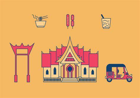 thailand map vector free bangkok vector illustrations free vector