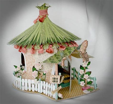 How To Make Paper Fairies - a house of enchantment house by svensson