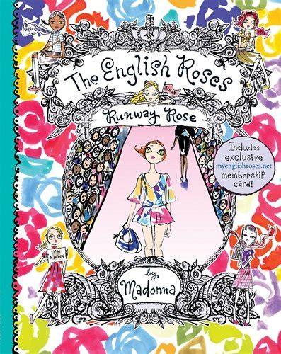 libro the english roses libro the english roses the runway rose di madonna