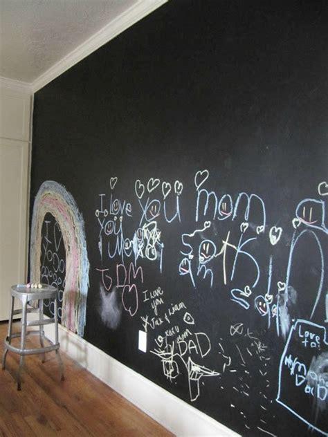 chalkboard wall in boy s room the wicker house