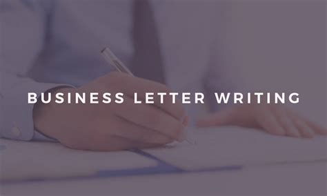 Business Letter Writing Course Mumbai professional business letter writing diploma level 3