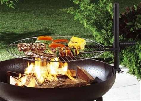 aufsatz feuerschale grill aufsatz f 252 r feuerschale in 2 ausf 252 hrungen