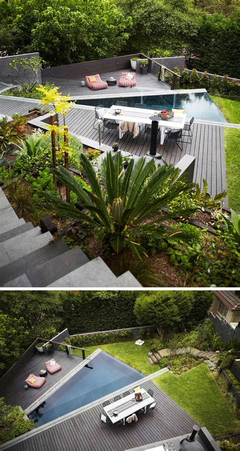 how to level backyard for pool 13 multi level backyards to get you inspired for a summer