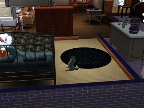 new cat hiding under bed my cat was hiding under the bed the sims 3 4 pinterest