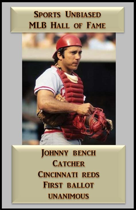 johnny bench career stats johnny bench career stats su baseball hall of fame
