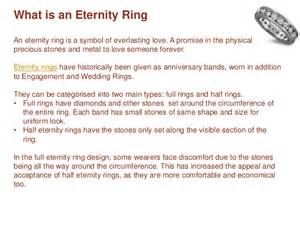 meaning amp types of eternity rings