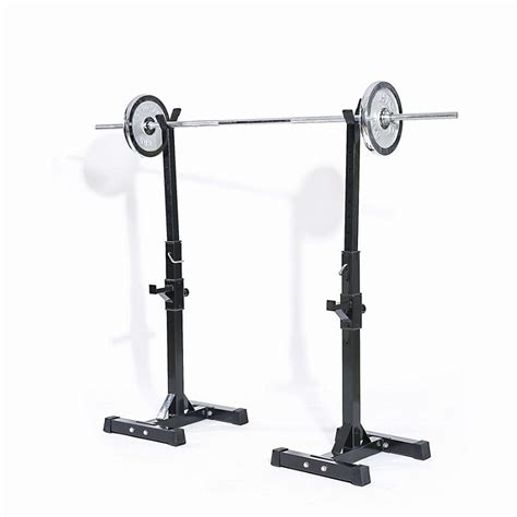 bench press holder adjustable rack standard steel squat stands bench press