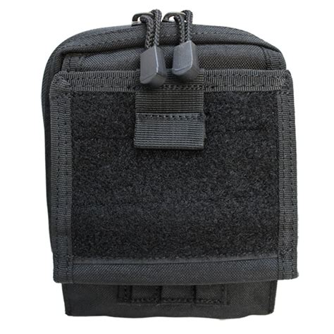 Airsoft Outdoor Idadmin Pouch molle tactical map pouch id admin chart atlas clear cover carrier pouch blk
