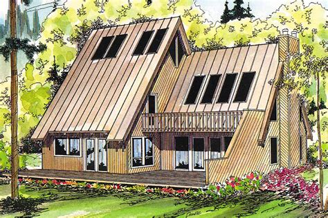 a frame house plans with garage a frame house plans cascade 10 034 associated designs