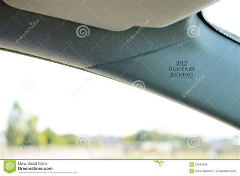 curtain air bag curtain air bag royalty free stock image image 22044306