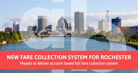 masabi to deliver account based fare collection system to rochester new york