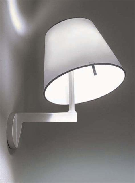 applique artemide melo applique grigio alluminio by artemide made in design