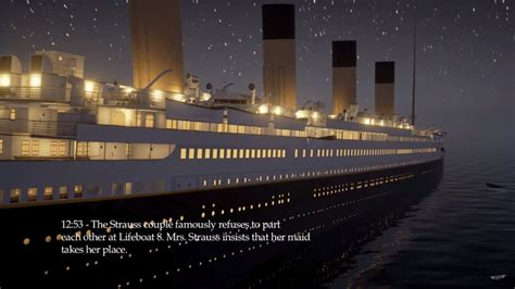 titanic boat real game developer releases real time simulation of titanic s