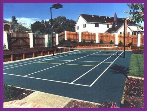 tennis court builders in pa nj and de and we are