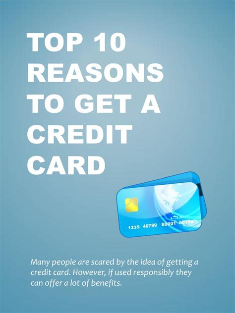 10 Reasons To The Credit Crunch by Top 10 Reasons To Get A Credit Card
