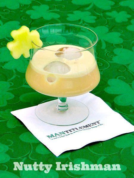 nutty irishman cocktail recipe st patrick s day treats decor p