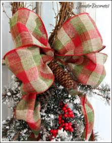 Cheap Home Decorating Ideas Small Spaces christmas bow you can make yourself step by step tutorial