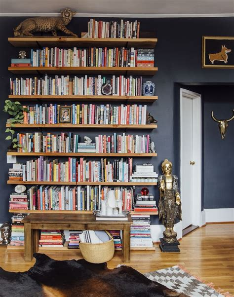 25 best ideas about wall mounted bookshelves on