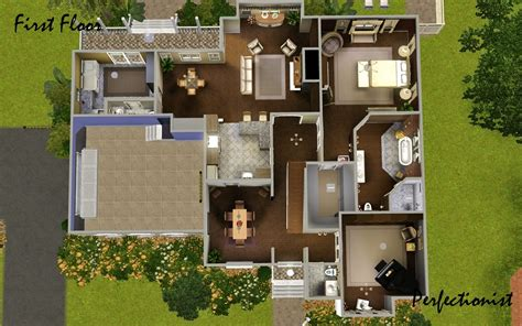 sims 3 6 bedroom house mod the sims 5 bedroom colonial style house ts3 remake