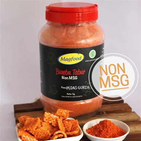 Bumbu Tabur Sehat Non Msg jual magfood bumbu tabur rasa pedas gurih non msg 1 kg harga murah jakarta oleh foodpreneur